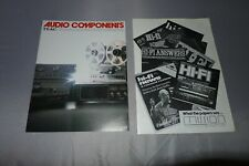 More details for teac reel to reel & mission speakers brochure / catalogues advertising booklet