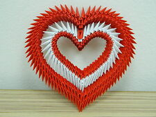 A lovely Valentine's Day origami red heart for a very special person