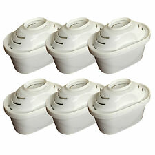 6 x Universal Filter Cartridges to fit Brita Maxtra Water Filter Jugs