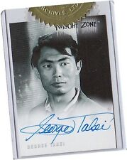 Twilight Zone Series 3: A-51 George Takei - Taro Autograph/Auto Card Case Topper