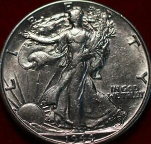 Uncirculated 1944-D Denver Mint Silver Walking Liberty Half