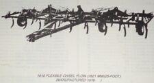 John Deere 1610 Series Chisel Plow Parts Catalog Manual Book Jd