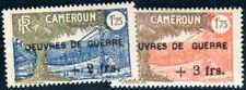 CAMEROUN 1940 Yvert 233-234 * KRIEGSWAISEN (F4351