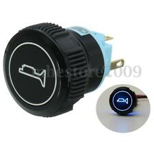 22mm Car Boat Blue LED Lighted Horn Speakers Bell Push Button Switch Momentary