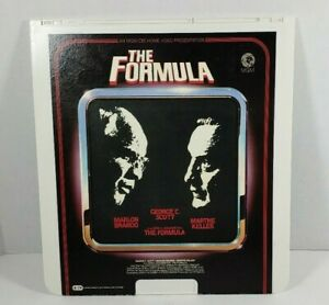 MGM/CBS The Formula Videodisc CED