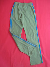 Pantalon Adidas Originals survetement Kaki et bleu style vintage - S