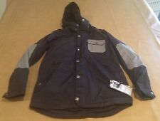 NWT Burton Men Heavy Jacket Snowboarding Snowbird Parka Shell Medium TWC Black