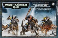 Space Wolves Thunderwolf Cavalry  Games Workshop Warhammer 40.000 53-09 Wölfe