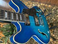 FIREFLY SEMI HOLLOW FF338 BLUE