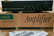 HARMAN KARDON HK 610 INTEGRATED AMPLIFIER IN VERY GOOD CONDITION WITH BOX