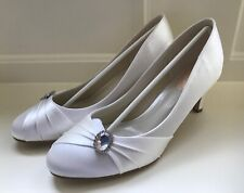 NEW Pale Ivory Satin Wedding Shoes  from Pink  7 (40)