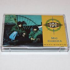 Das EFX Mic Checka Cassette Tape Maxi Single Hip Hop Rap w/ Jussummen Pete Rock