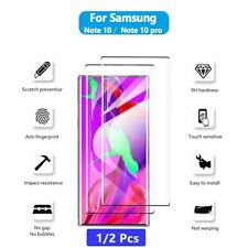 2x For Samsung Galaxy Note 10 Plus Full Coverage Tempered Glass Screen Protector