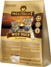 Wolfsblut Wild Duck Large Breed Puppy 15kg Hundefutter mit Ente