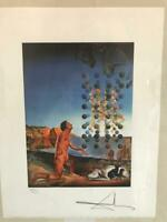 Salvador Dali Lithography 50 x 65 Bfk Rives Stamp dry Signed pencil 52