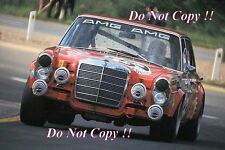 Hans Heyer AMG Mercedes-Benz 300 SEL 6.3 Spa 24 Hours 1971 Photograph 2