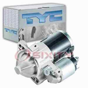 TYC Starter Motor for 2006-2008 Mitsubishi Eclipse 2.4L L4 Electrical zn