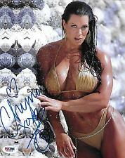 CHYNA 2 REPRINT 8X10 AUTOGRAPHED SIGNED PHOTO PICTURE JOAN LAURER WRESTLING WWE