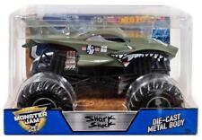 Shark Shock 1/24 Diecast Monster Jam Racing Truck Hot Wheels New