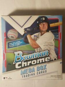 2021 Topps Bowman Chrome MLB Baseball Mega Box Brand New Factory Sealed