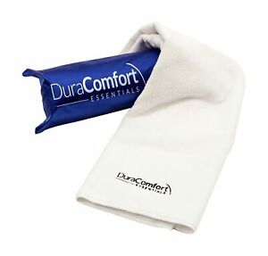 DuraComfort Essentials Super Absorbent Anti-Frizz Microfiber Hair Towel, Larg...