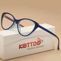 Women Eyeglasses Cat Eye Glasses Reading Eyeglass Frame Unisex Vintage Eyewear