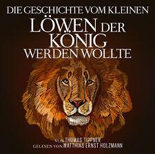 Livre Audio CD la histoire par la petit LIONS LE ROI peuvent wollte