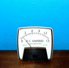 Ge General Electric Type Do 91 Dc Amperes Panel Meter 0 15 Amps 35 X 35
