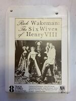 The Six Wives Of Henry VIII 8 Track Tape 1973 Rick Wakeman ElectronicsRecycled