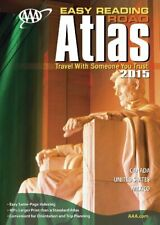 AAA EASY READING ROAD ATLAS 2015 By Aaa Publishing
