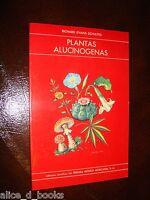HALLUCINOGENIC PLANTS signed Richard Schultes  psychedelic peyote Albert Hofmann
