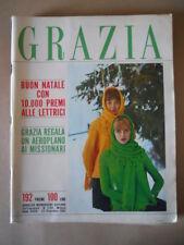 GRAZIA n°1140 1962  Settimanale di Moda Italiana [G788]