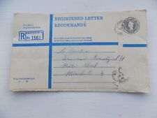 Old Registered Envelope Aberdeen 8 1956 to Co-op Insurance Manchester v