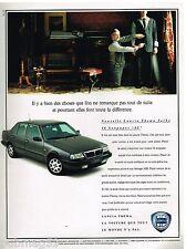Publicité Advertising 1991 Lancia Thema Turbo 16 Soupapes