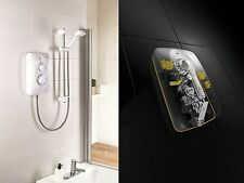 Mira Jump Multifit Electric Shower White/Chrome 10.8KW