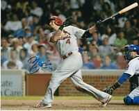 Yadier Molina Signed Autograph 8X10 Photo St Louis Cardinals