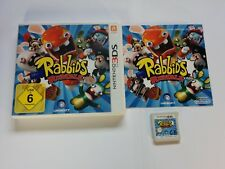 Rabbids Rumble - German Case - Nintendo 3DS Game - 2DS, XL - Free, Fast P&P!