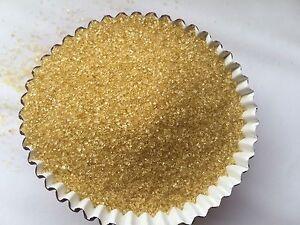 Edible Gold Sanding Sugar Sprinkles Confetti Cupcake Cake Cookies 4oz