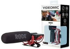 RØDE Camera and Audio VideoMic with Rycote Lyre Mount Black And Red #Gik