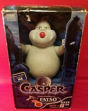 "New ListingVintage 1994 Tyco Casper The Friendly Ghost Fatso Tomato Burping Action! 9"""