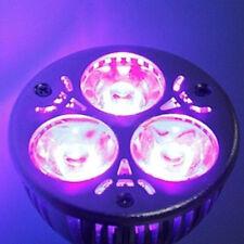 1pc 3 W E27/GU10/MR16 UV Ultravioleta Púrpura Luz LED Bombilla Lámpara 85-265V/12V