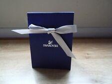 Logotipo de Swarovski bolsa de regalo por menor con cinta 11.5x7x15.5cm Azul Oscuro Reliebe Nuevo