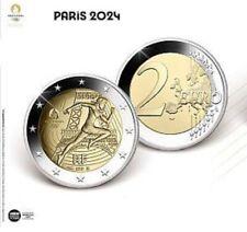 2 Euro Gedenkmünze/Sondermünze Frankreich 2021 PP Proof Olympiade Paris 2024
