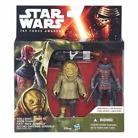 "Star Wars Ep VII The Force Awakens 3.75"" Sidon Ithano Quiggold pirate 2-Pack NEW"