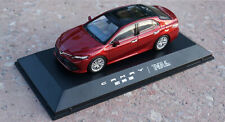 1/43 Toyota Camry 2018 Red Diecast model Collection Toy Gift