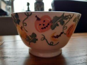Emma Bridgewater New SAMPLE Halloween Pumpkin Bat Old Small Bowl - Lynsey (LG)