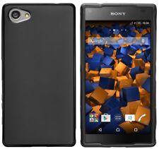 mumbi Schutzhülle für Sony Xperia Z5 Compact Tasche Case schwarz