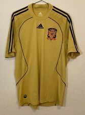 Spain Espana adidas CLIMA365 2008-10 Soccer Jersey Men's Large