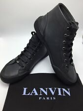 $750 LANVIN Mid Top Think Sole Sneakers Size 7 New with Box