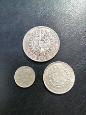 More details for swedish silver 3 coin set   1924 27 41